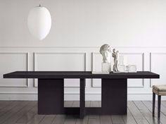 Oak table TOKIO by Casamilano design Roberto Lazzeroni