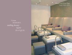 Lookbook, Nail Spa Interior Design, Pedicure Bench Ideas - MICHELE PELAFAS