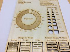 Airborne203 3D printed Laser cutting materiale template by Noloxs