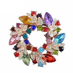 Check out one of our newest products and have a look around Crystal Flower Br... at http://elysiumjewellery.net/products/crystal-flower-brooch?utm_campaign=social_autopilot&utm_source=pin&utm_medium=pin  #jewellery #jewelry #fashion