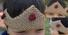 Free Knitting Pattern - Toys, Dolls & Stuff Animals: Make Believe Crown and Ring