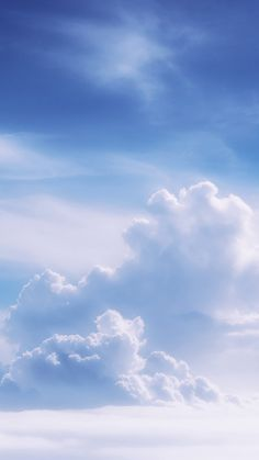 Blue sky with sun and clouds. Blue sky with sun and beautiful clouds , Blue Wallpaper Iphone, Planets Wallpaper, Cloud Wallpaper, Beach Wallpaper, Blue Wallpapers, Nature Wallpaper, Iphone Wallpapers, Blue Aesthetic Pastel, Sky Aesthetic