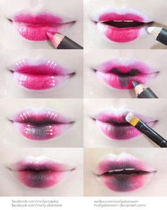 Cosplay / Dolly Lips Makeup Tutorial by mollyeberwein on DeviantArt