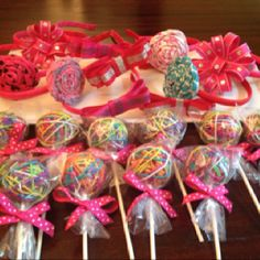 Glamour Girl party favors