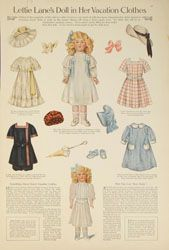 Daisy Paper Dolls  (Vintage Ladies' Home Journal)
