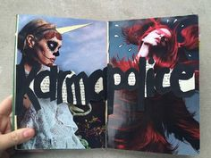 /dansmoncrane/ | Karma Police | Season of Words | Get Messy Art Journal