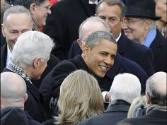 President Obama arrives for his inauguration ceremony.  H. Darr Beiser, USA TODAY