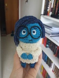 Sadness from Inside Out crochet pattern