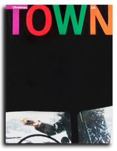 Town Magazine - Graphic design by Tom Wolsey