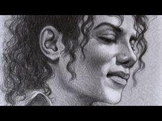 The way I do it - Sketch 31 (portrait of Michael Jackson)
