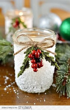 DIY Christmas Decoration Ideas na Stylowi.pl