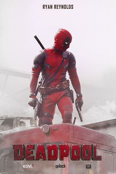 #Deadpool #Fan #Art. (Poster DEADPOOL) By: Sprinter Qelock. (THE * 5 * STÅR * ÅWARD * OF: * AW YEAH, IT'S MAJOR ÅWESOMENESS!!!™) [THANK U 4 PINNING!!!<·><]<©>ÅÅÅ+(OB4E)