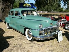 1947 DeSoto Custom 4 dr sedan. Cool!  My dad used to sell DeSotos!