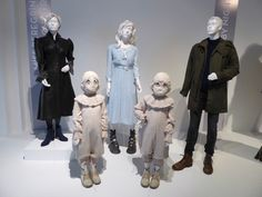 Hollywood Movie Costumes and Props: Miss Peregrine's Home for Peculiar Children film costumes on display... Original film costumes and props on display