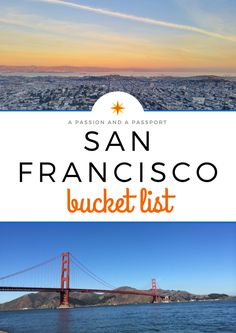San Francisco Bucket List