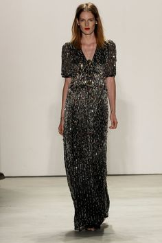 Pin for Later: Jenny Packham Has Moves Like Jagger For Spring 2016 Jenny Packham Spring/Summer 2016