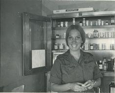 Janis Nark, who served one tour as a nurse in the Vietnam War, 1970-1971. #VietnamWarMemories