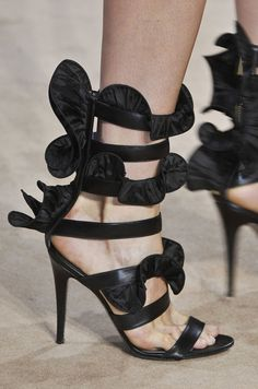 McQueen and Vuitton? Yes, Please! See the Runway Shoes From Paris Fashion Week