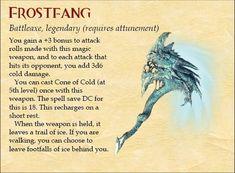 Frostfang- Legendary