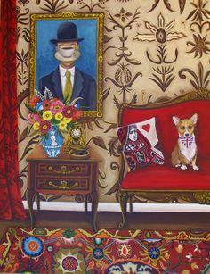 Catherine Nolin Art Studio: British Vignette~ New Painting
