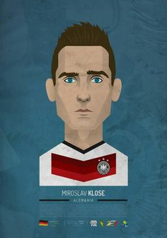 Miroslav Klose of Germany wallpaper.