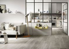 Marazzi Treverktime Grey Out cm Cottage Living Rooms, Boho Living Room, Interior Design Living Room, Living Room Decor, Style At Home, Small Space Interior Design, Wood Tile Floors, Home Fashion, New Homes