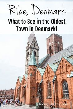 Ribe, Denmark: Visiting the Oldest Town in Denmark and Exploring the Beautiful Walking Streets! Backpacking Europe, Europe Travel Tips, Travel Advice, Travel Destinations, Travel Guides, Holiday Destinations, Italy Travel, Bucket List Europe, Denmark Travel