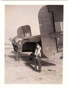 Lancaster and his tail machine guns