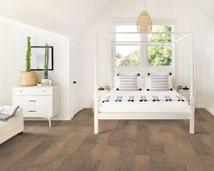 """If you love Scandinavian Interior home design, check out our beautiful Canyon Creek Birch 6.5"""" Hardwood in Armadillo. This textured hardwood floor features a softly wire brushed surface and hand-crafted 4 sided bevels that enhance its natural beauty. It retails starting at $4.49 SQ FT."""