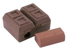 Chocolate Pencil Sharpener with eraser $13.55 for 36