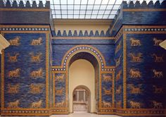 The Ishtar Gate was constructed by the Babylonian King Nebuchadnezzar II circa 575 BCE. It was the eighth gate of the city of Babylon (in present day Iraq) and was the main entrance into the city. The Ishtar Gate was part of Nebuchadnezzar's plan to beautify his empire's capital and during the first half of the 6th century BCE, he also restored the temple of Marduk and built the renowned wonder: the Hanging Gardens as part of this plan. The magnificence of the Ishtar Gate was so well known…