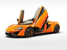 McLaren's new 570S with gull-wing doors