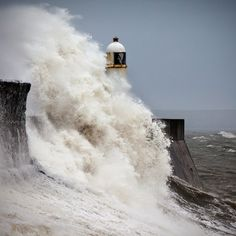 Resolute by Alun Davies, via 500px - Taken on a stormy day at Porthcawl when the brave men of the RNLI were called out to rescue a vessel in distress.