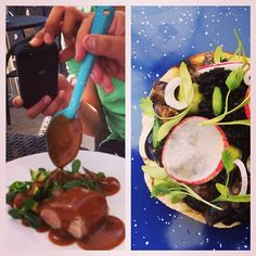 MesAbierta San Miguel: most unexped moment: gr8 huachimole & black ceviche @ Humo food truck