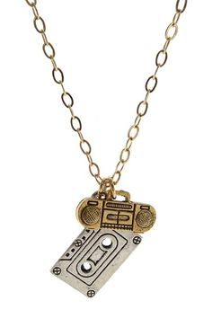 80's Music Necklace by Jami Rodriguez on @HauteLook