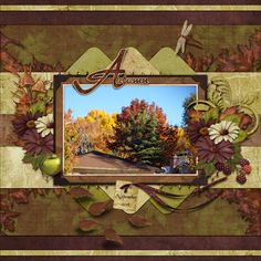 This is for Tbear's November 2016 Scraplift The Spotlifht Challenge - Carole Harden.  I lifted the Fun page About Hats by moog.  I used Early Autumn Kit, and Falling For You Kit both by Carole's Share The Luv.
