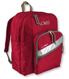 7fec1d76ea09 I always wanted a monogramed LL Bean backpack as a kid.never got one