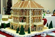 Gingerbread Southern Plantation