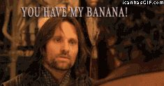 lord of the rings funnies | funny-gif-Lord-of-the-Rings-banana