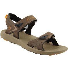 Columbia Techsun Sandals - Mens Mud Canyon Gold