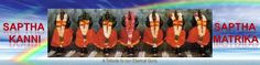 Saptha Kanni (Mathrikas, Matre) Kovil of Adhiparasakthi Siddhar Peetam, Melmaruvathur, Indiahttp://www.sakthiolhi.org/sapthakannikas.html