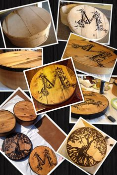 Boxes For Decoration And Crafts How To Make A New Cheese Box Look Old  Cheese Box And Craft