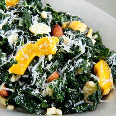 Kale Salad from the Clean Plates Cookbook