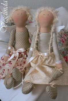 Cute dolls from Veselinda. Discussion on LiveInternet - Russian Service Online Diaries Online Diary, Doll Parts, Cute Dolls, Handmade Toys, Softies, Doll Toys, Doll Clothes, Bunny, Doodles