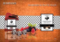 Bombones de frutos rojos. Te presentamos una nueva delicia creada a partir de un delicioso chocolate belga. En su interior los frutos rojos se entremezclan con el dulzor del chocolate creando una armonía de sabores.  www.chocolatesierranevada.com