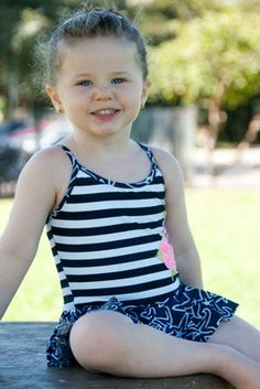 Now 50% OFF, only $31 Starfish Baby/Toddler One Piece - Lemons & Limes Kids Swimwear #babyswimsuit #babyonepiece #toddleronepiece #toddlerswimsuit #stripes #starfish #navy