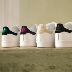 Adidas stan smith velour pack