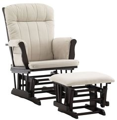 Graco by LaJobi Avalon Glider/Ottoman - Espresso a #mommy #splurge at $187.99 from @Diapers.com