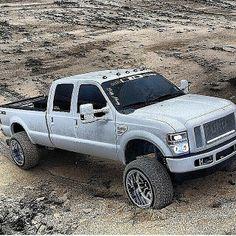 Needs bigger tires, but nice truck