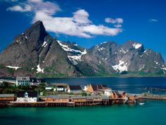 Sakrisoy  Lofoten Islands  Norway Pictures